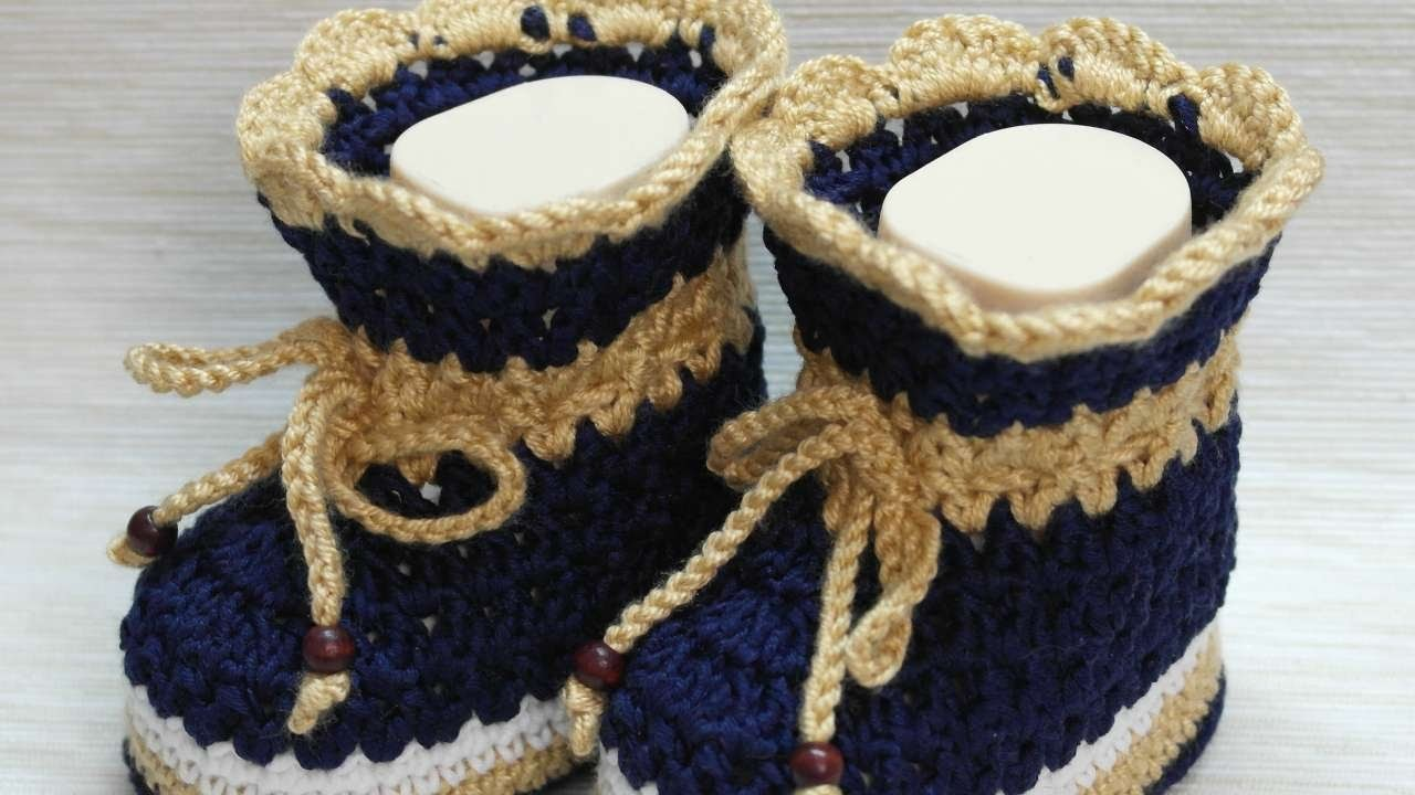 How To Make Cute Crocheted Baby Booties - DIY Crafts Tutorial - Guidecentral