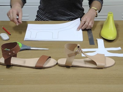 How to make easy patterns for sandals