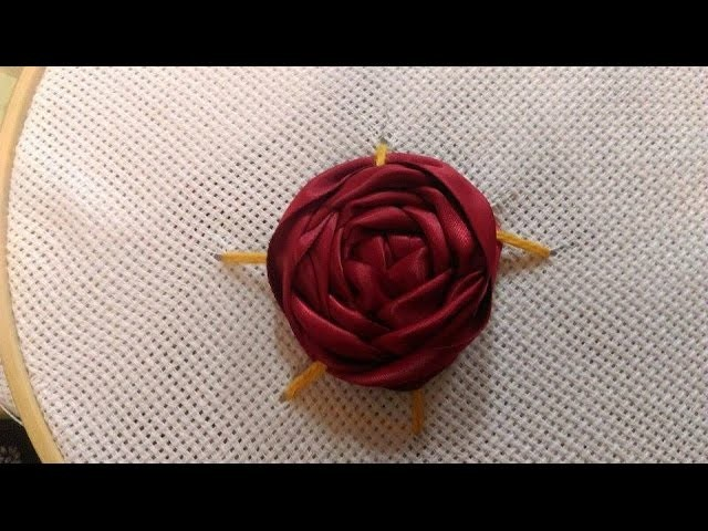 How to Make Hand Embroidery Flowers | Simple + Tutorial