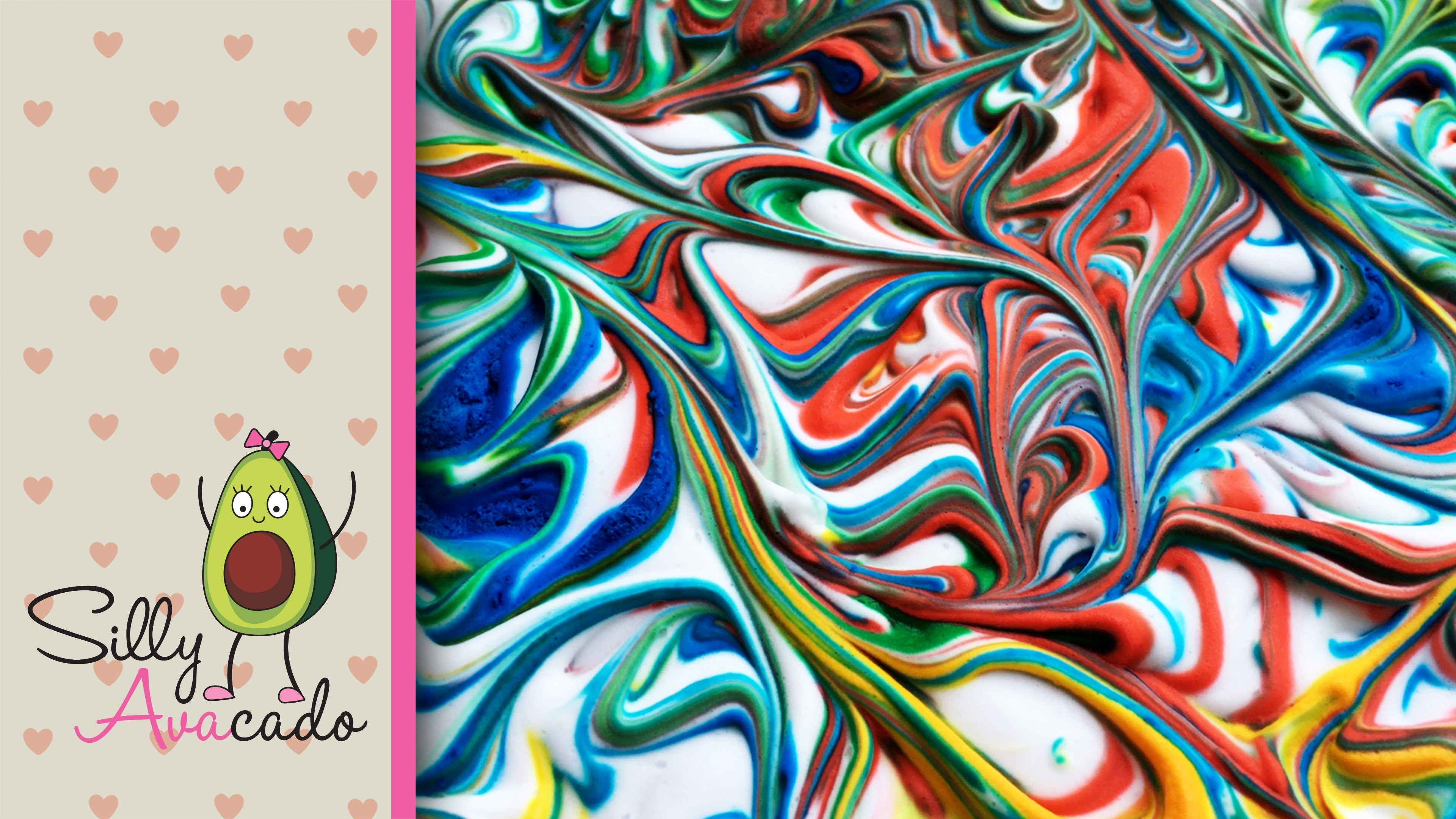 How to Make Marbled Paper w. Shaving Cream ❤ Make Your Own Holiday Wrapping Paper Kid Craft Idea!