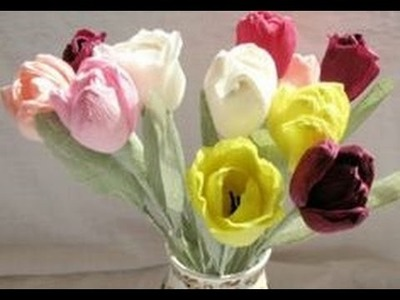 How to make paper flower - Tips for making paper flowers