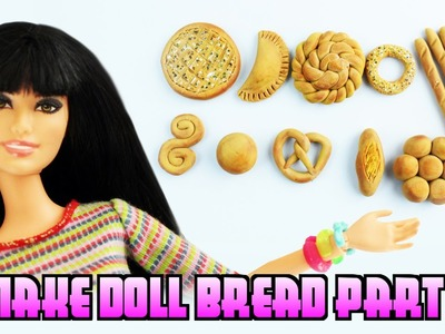 How to Make Realistic DOLL BREAD Part 2 - [SAT Shout-Outs] Easy Doll Crafts