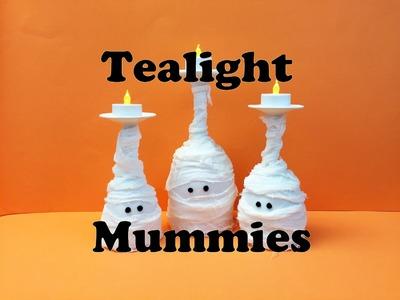 How to make Tea-light Mummies Tutorial