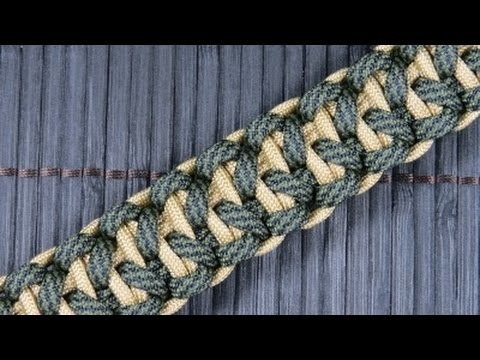 How to make the I-Tie Solomon Bar Paracord Bracelet