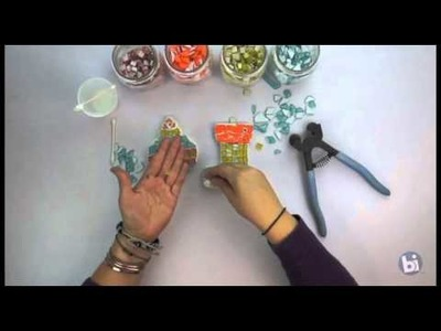 HOW TO: Mosaic Ornaments