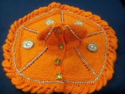 How to paste stones on wool - Pasting work on woolen - how to enhance the look of woolen dress