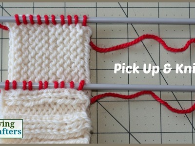 How to Pick Up and Knit - a tutorial
