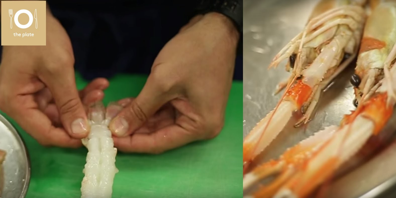How to prepare shrimps like a Michelin starred chef at Cinco by Paco Perez (Das Stue, Berlin)