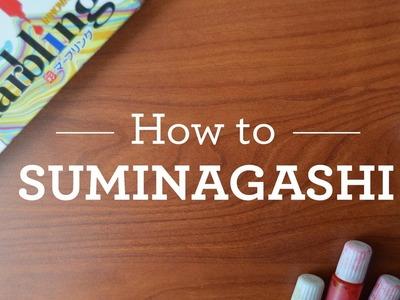 How to SUMINAGASHI + Giveaway!