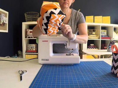 Inspired Project #2: How to Sew A Candy Catcher for Halloween