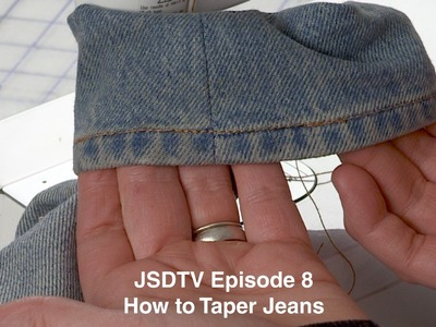 JSDTV Episode 8 l How to Taper your Jeans