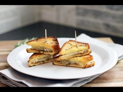 Lilyshop How To Make a Pound Cake Fig & Brie Grilled Cheese Sandwich
