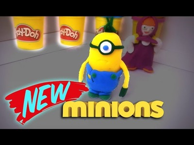 Minion Stuart Play-Doh - How to make?