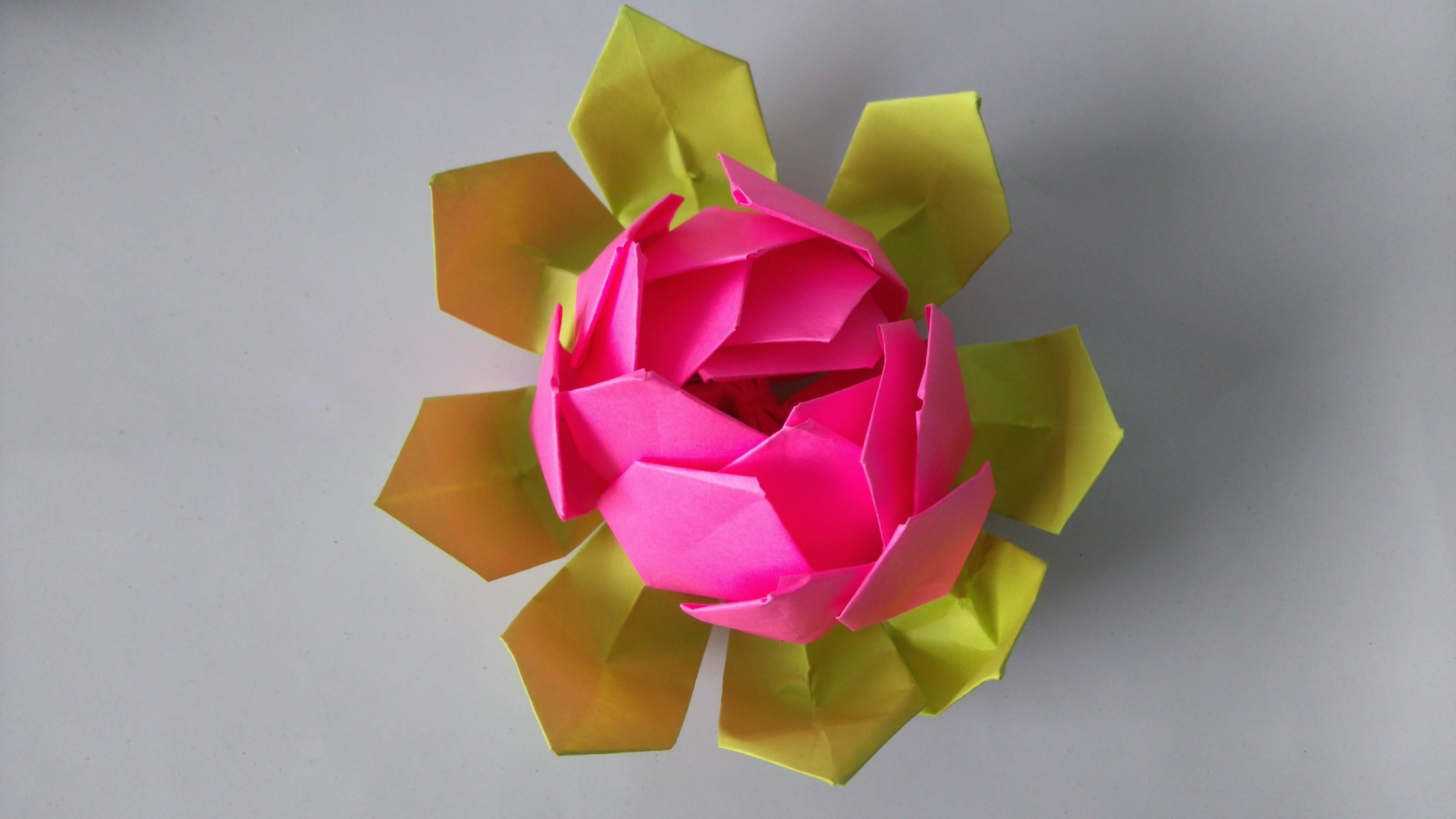 Origami Flower Youtube Golfclub