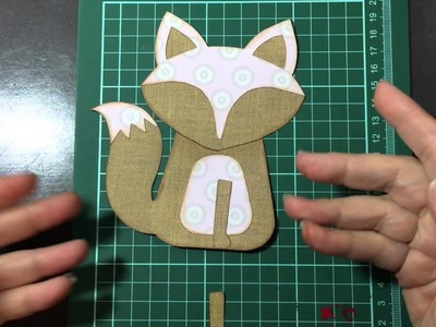 Sizzix Fox - How To, and a Card