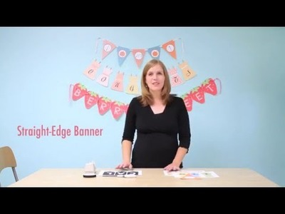 Banner Tutorial: How To Assemble a Banner or Bunting Using Printables