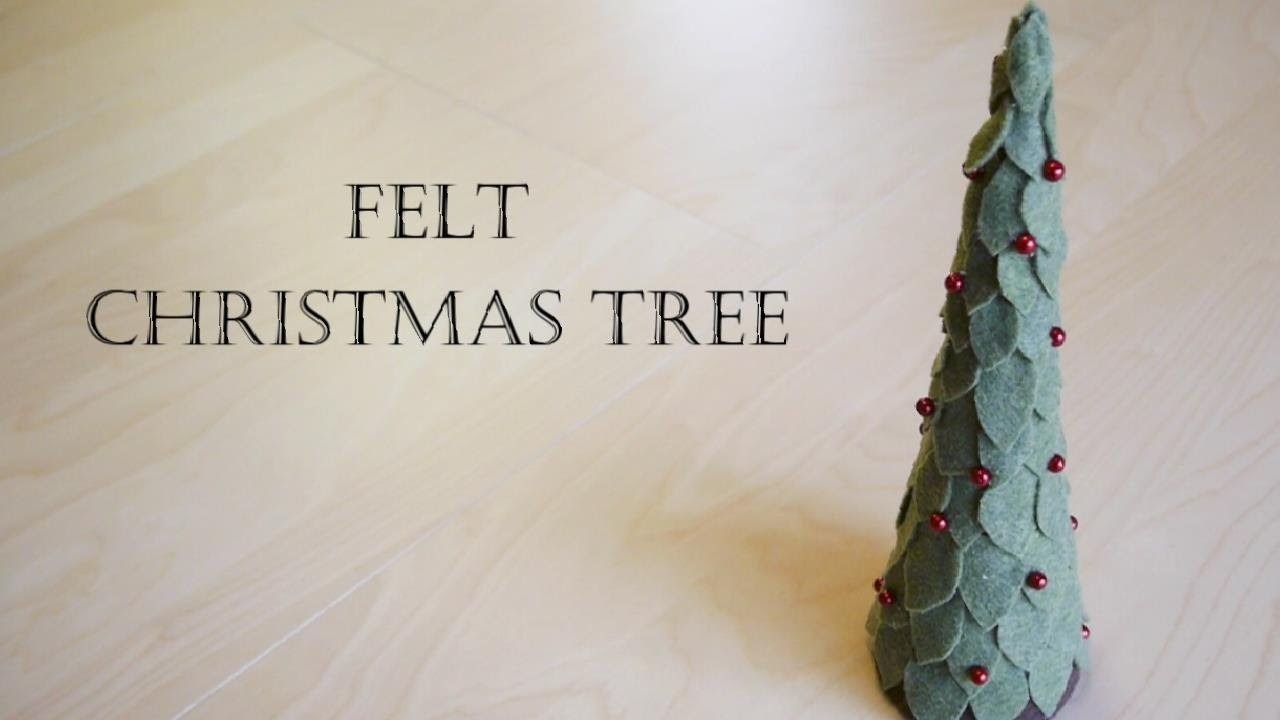 Christmas Decoration - How to Make Felt Christmas Tree