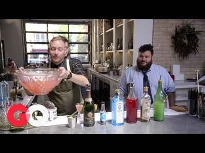 Cocktail How-to: Cranberry Cordial Punch | Where's the Bar