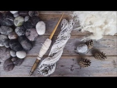 Design yarn. How to spin yarn on a spinning wheel