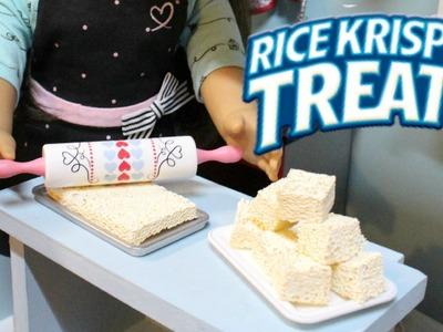 DIY American Girl Rice Krispies Treats