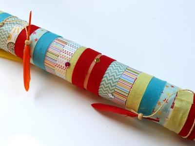 Easy craft: How to make a rain stick