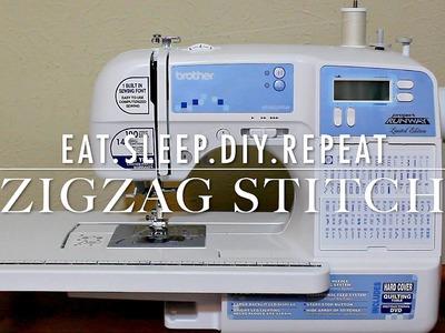 Finishing Seams | How to sew a ZigZag Stitch