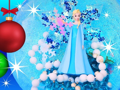 FROZEN ELSA CHRISTMAS BAUBLE ORNAMENT Make Your Own How To Decoration Star Beads DIY