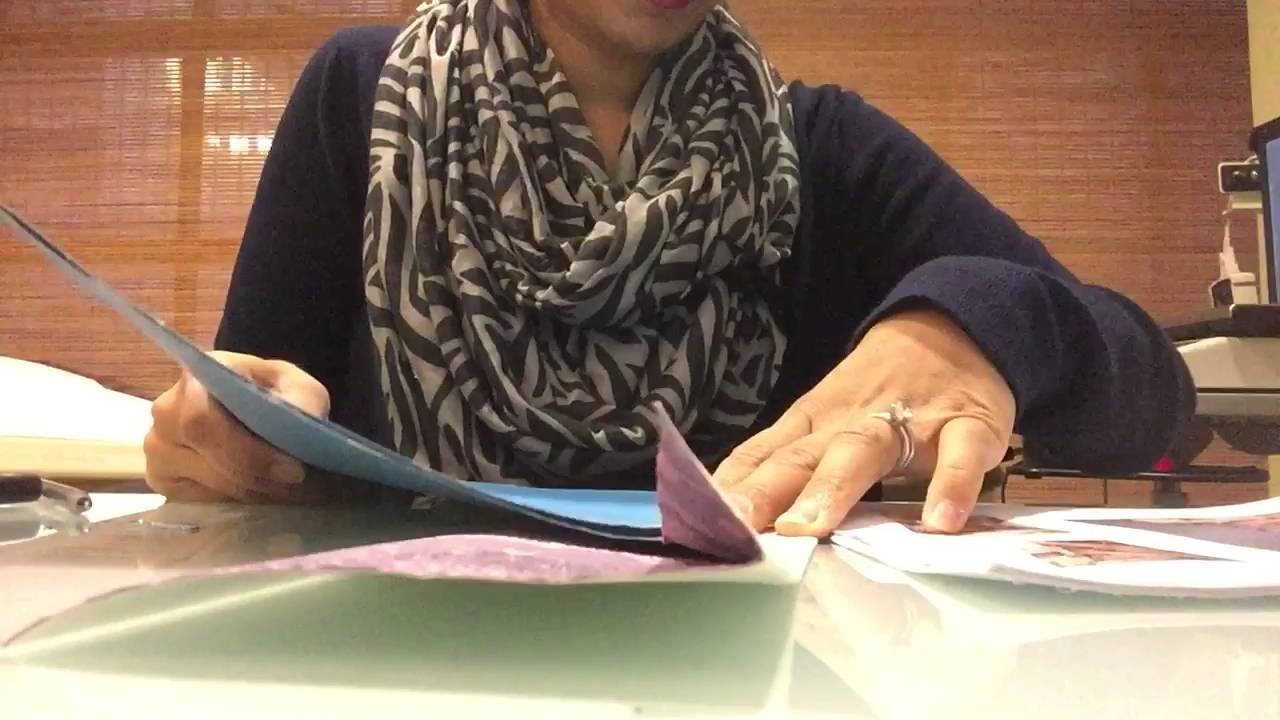 How to bind loose paper to make a book.