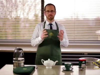 How to brew a perfect cup of tea with loose tea, by Tea Taster Dominic Marriot