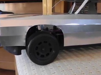 How to build a metal  RC Demolition derby body