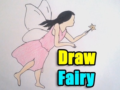 How to Draw Fairy step by step