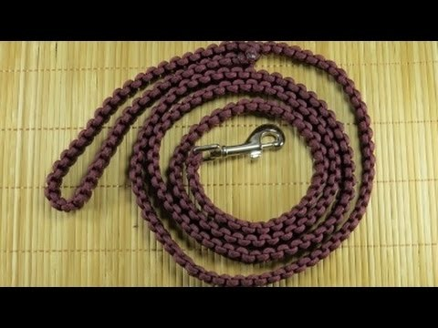 How to make a (Another) Solomon Paracord Dog or Pet Leash