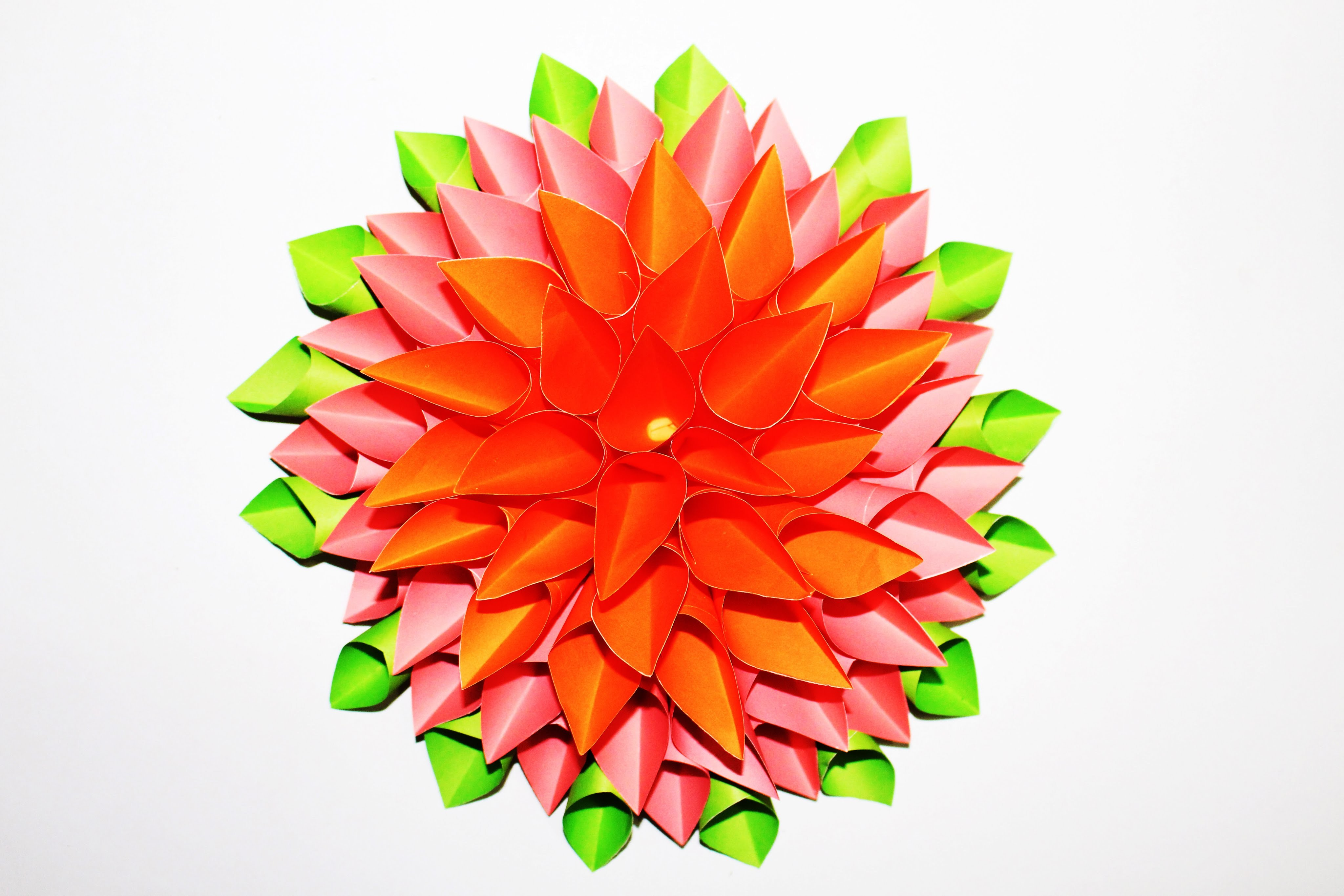 Origami how to make a beautiful flower out of paper easy step by origami how to make a beautiful flower out of paper easy step by step tutorial how to make a izmirmasajfo