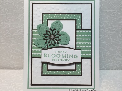 How to Make a Botanical Blooms Birthday Card