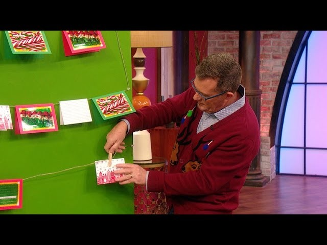 How to Make a Christmas Tree Out of Your Holiday Cards