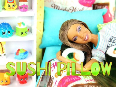 How to Make a Doll Sushi Pillow - Easy Doll Crafts
