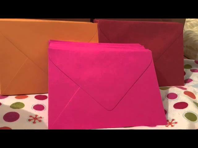 How to make a gift bag out of envelopes