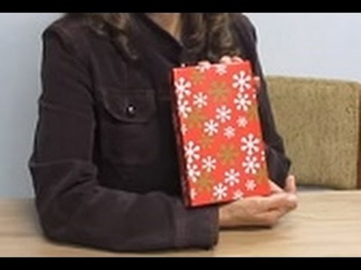 How To Make A Gift Box.  Recycle, Reuse, Reduce