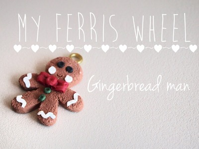 How to make a Gingerbread man out of polymer clay