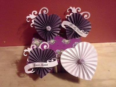 How To Make A Heart Rosette With Or Without A Die Template