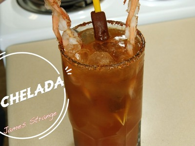 How to Make a Michelada Recipe with Shrimp. Michelada con cameron