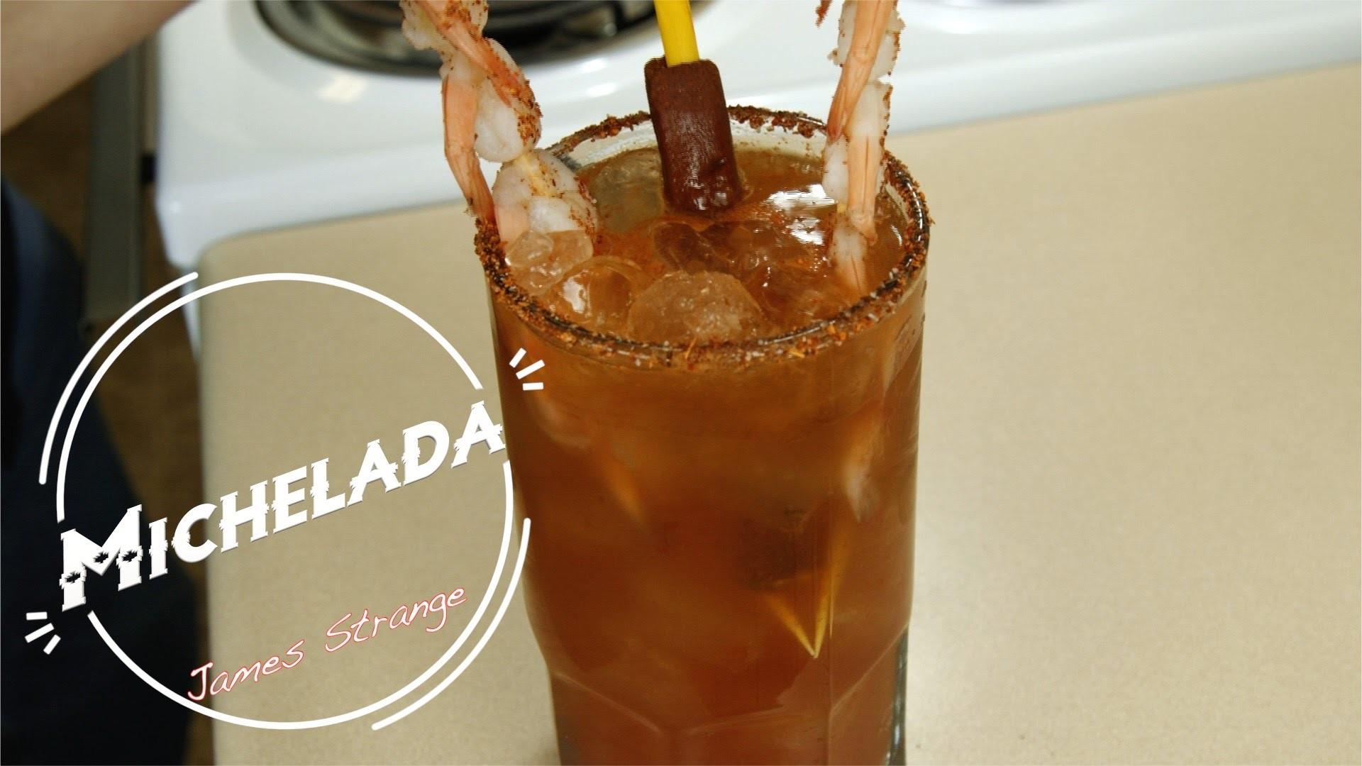 How to Make a Michelada Recipe with Shrimp. Michelada con cameron
