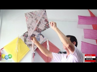 How to Make a Newspaper Kite