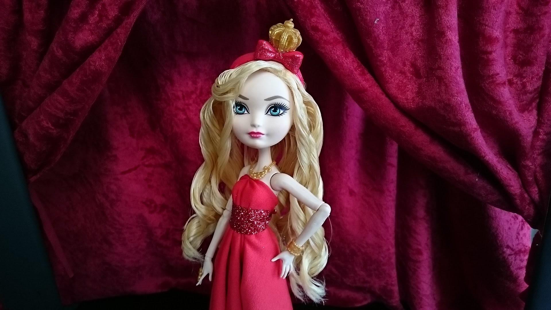 How to make a no-sew doll dress