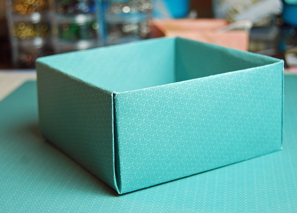 How to make a Paper Box Origami #1