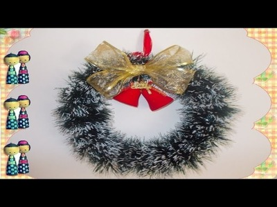 HOW TO MAKE A SIMPLE CRISTMAS CROWN