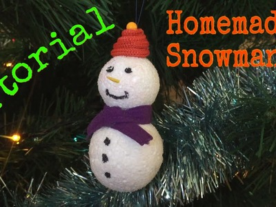 How to Make a Snowman on your Christmas Tree - Tutorial