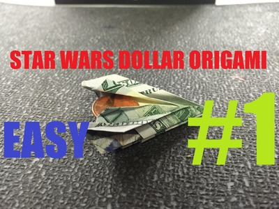 How To Make A Stealth Bomber Origami Dollar Star Wars