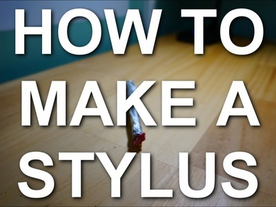 How to Make a Touchscreen Stylus (with Household Items!)