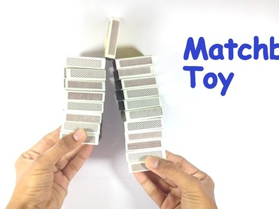 How to Make a Toy from Matchbox   Make Toys at Home
